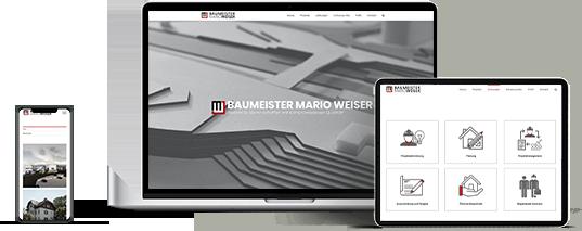 Website Baumeister Weiser GmbH